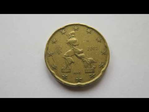 20 Euro Cent Coin :: Italy 2002