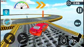 Ramp Car Stunts Impossible Track Racing - Stunts Car Race Games - Android GamePlay