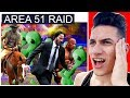 MOOSECRAFT Reacts To CELEBRITIES RAIDING AREA 51 To Find ALIENS! (Ft. LIL NAS X, KEANU REEVES)