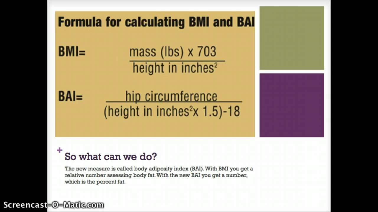 Should Bmi Be Used To Assess Health? Con Youtube