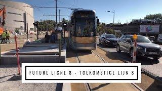 La future ligne 8 en test - De toekomstige lijn 8 getest