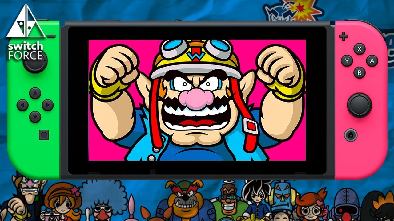 Here S Why Nintendo Switch Needs A Warioware Game Youtube