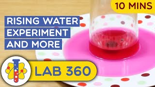 Amazing Science Experiments That You Can Do At Home | Water Tricks and Experiments | Lab 360