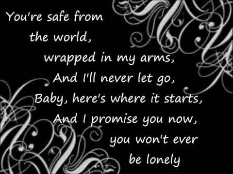 Andy Griggs You Wont Ever Be Lonely With Lyrics