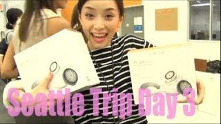 Seattle Trip Day3 + Clarisonic GIVEAWAY!! [English Subs] - SasakiAsahi Thumbnail