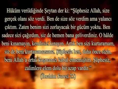 hz.Muhammed sav. ile Şeytanın Konuşması