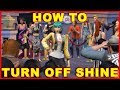 Sims 4 Get Famous: How to Turn Off Shine (Fame Shine)