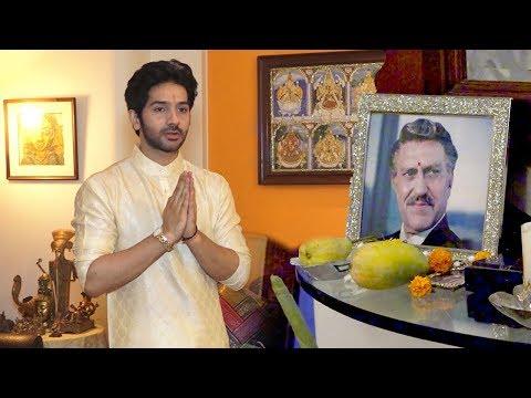 See Amrish Puri's Handsome Son Vadhaan Puri EMOTIONAL At Amrish Puri's D. Anivsary Pooja