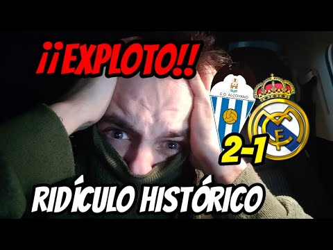 💥🤬¡¡HUMILLACIÓN Y VERGÜENZA HISTÓRICA!!  ALCOYANO 2-1 REAL MADRID • NOS ECHA UN 2B • ¡ZIDANE FUERA!