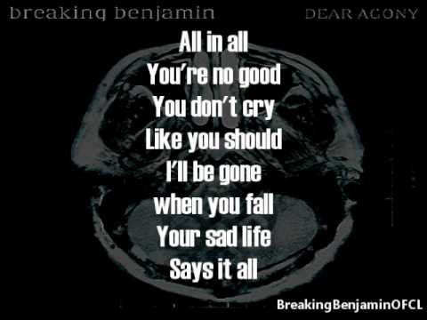 Breaking Benjamin - What Lies Beneath (Lyrics on screen)