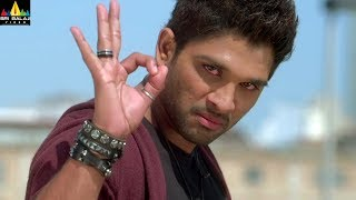 Iddarammayilatho Movie Allu Arjun Saves Amala Paul | Telugu Movie Scenes | Sri Balaji Video