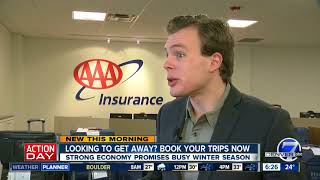 Planning a trip to the mountains this winter? Colorado AAA says book now
