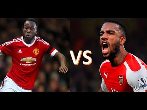 Alexandre Lacazette vs Romelu Lukaku   Who is the better Striker?   Stats, Goals, Skills