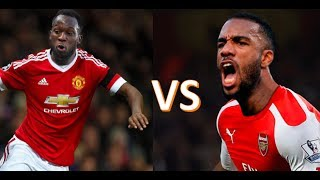 Alexandre Lacazette vs Romelu Lukaku | Who is the better Striker? | Stats, Goals, Skills