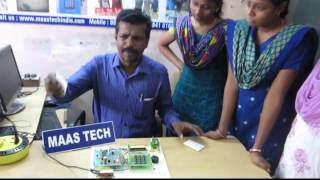 MINI PROJECTS USING RFID SMART CARD-S.A. ENGINEERING COLLEGE STUDENTS-AVADI