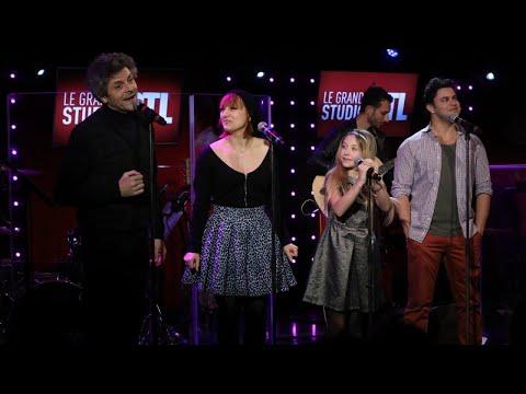 La troupe d'Emilie Jolie - La chanson du hérisson (LIVE) Le Grand Studio
