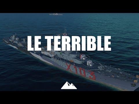 LE TERRIBLE, ein Schiff zum wahnsinnig werden... - World of Warships | [Division] [Deutsch] [60fps]