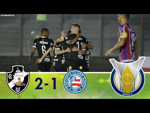 Melhores Momentos - Vasco 2 x 1 Bahia - Campeonato Brasileiro (24/09/2018)