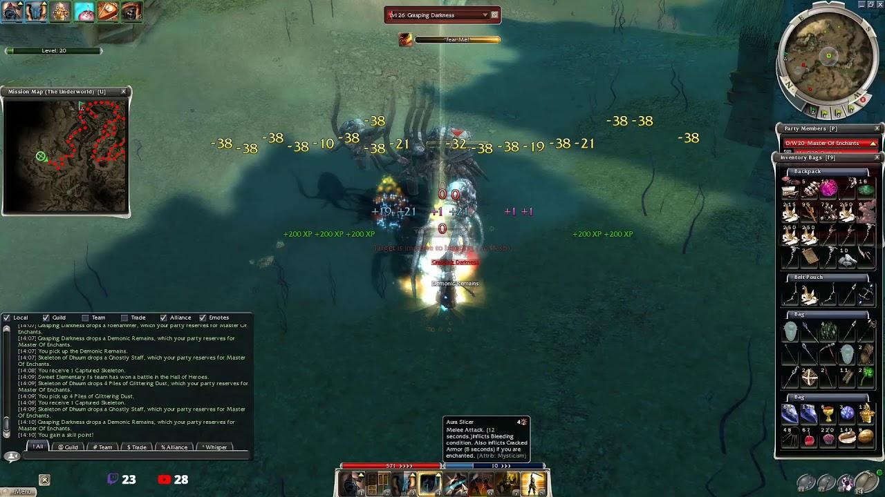 Solo farming: UW/Feathers/Luxon Assassins in Guild Wars