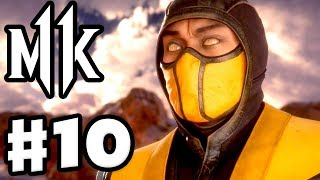 Mortal Kombat 11 - Gameplay Walkthrough Part 10 - Chapter 10: To Hell and Back - Scorpion!