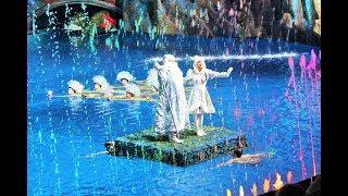 """Цирк на воде """"Пираты и корабль - призрак"""", финал"""
