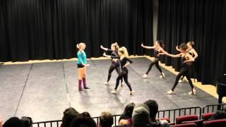Maniac choreography Dance Workshop University of Michigan Ben Bogen