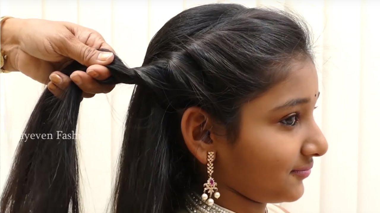 3 Simple Cute Hairstyles For Short Medium Hair Best Hairstyles For Girls Hairstyle Tutorials Youtube