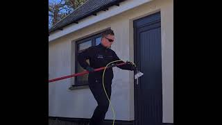 Window and PVCu Cleaning using Pure Water Unger Hydropower and Gardiner Pole Systems