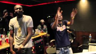 meek mill ft kendrick lamar a1 everything studio session 2012