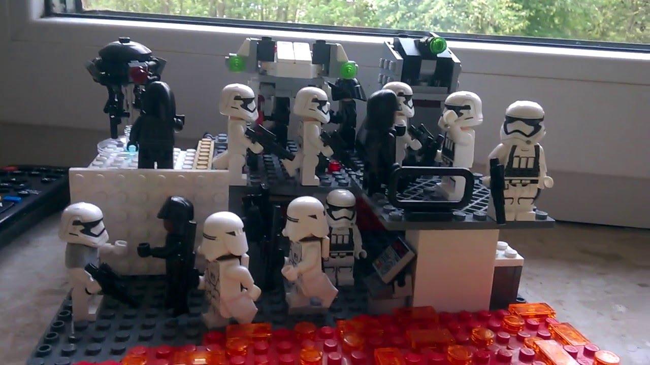 Lego Star Wars Makieta Bazy Na Mustafar Youtube