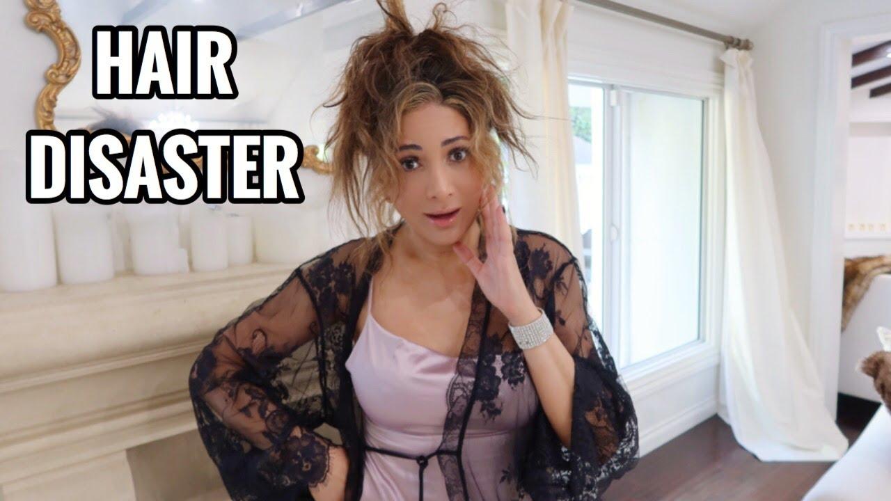 BLEACHING MY HAIR DISASTER