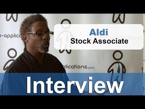 Aldi Interview -  Stock Associate