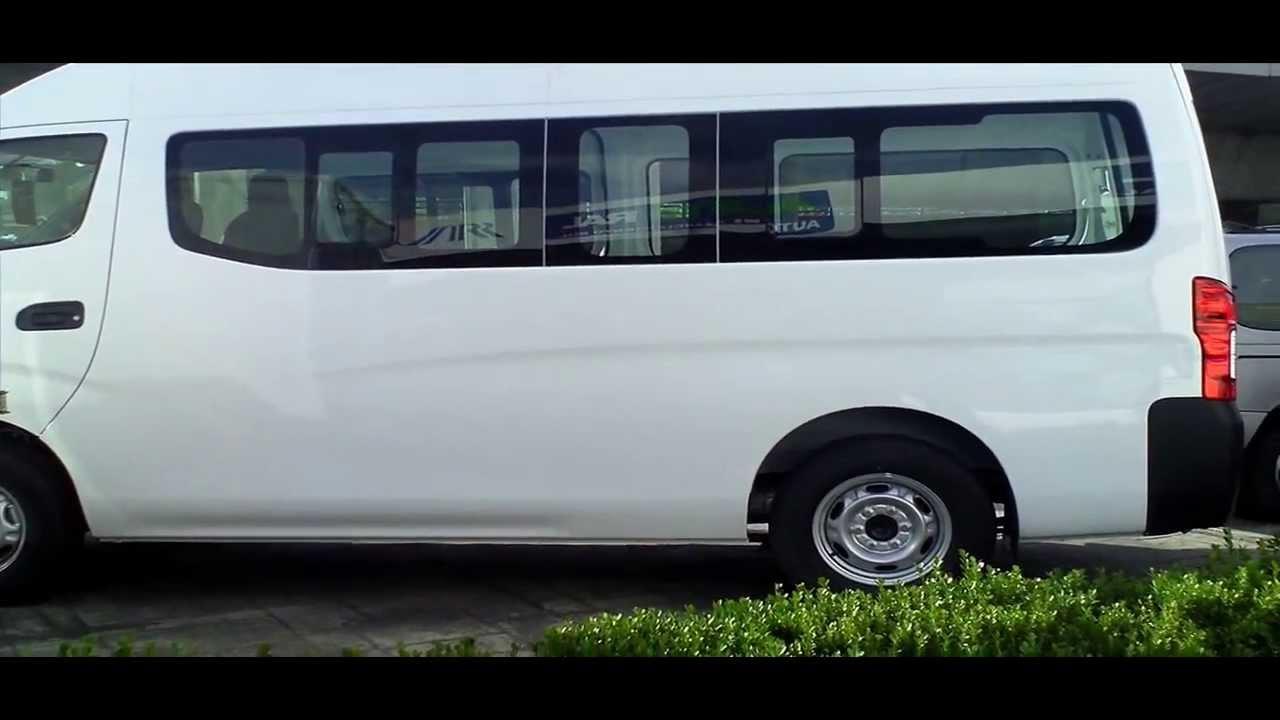 Impresionante Caminoneta Nv350 Urvan Color Blanco Auto Ral