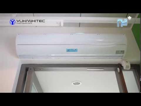 Air-Curtain, Air-conditioner, Ion, PLASMA,CLEAN by Yuhanhitec