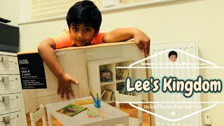 Kids Review For Kids | Children Table Setup by Lee | Kid Video For Kids | Kids Table & Chairs Review