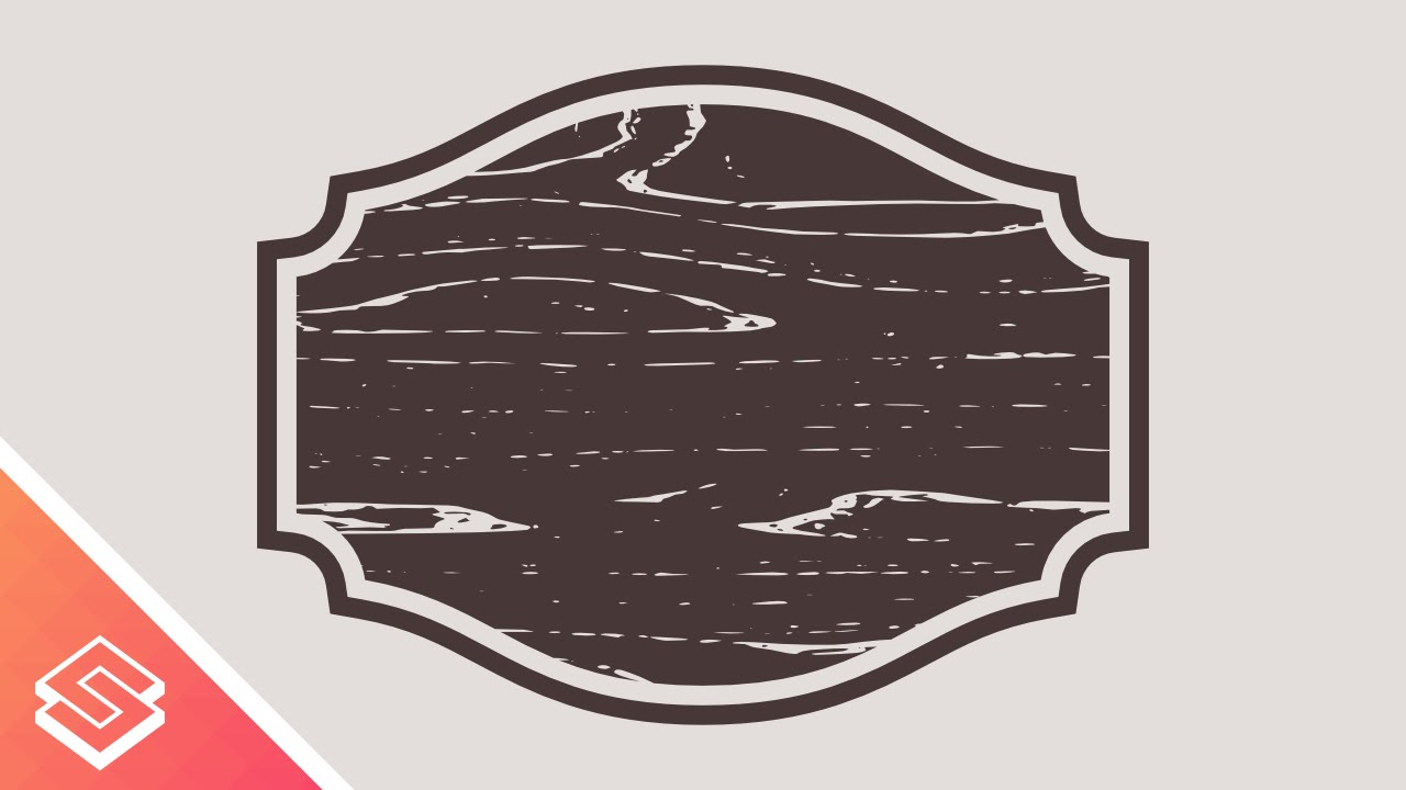 Inkscape For Beginners Custom Shape With A Vector Wood Texture