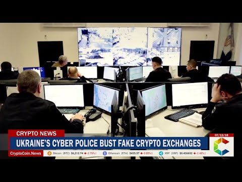 Ukraine's Cyber Police Busted a Network of Fake Crypto Exchanges