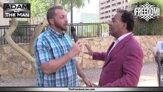 Adam Kokesh and Theo Chino At The Morpheus Titania Sentencing