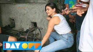 Day Off: Janine Gutierrez, dalawang oras na magluluto ng lechon!