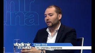 César Silva arquitecto, urbanista y ambientalista en Vladimir A La 1 (3/5)