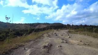 タール火山に登る