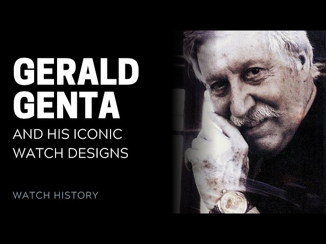Gerald Genta's Iconic Watch Designs | SwissWatchExpo
