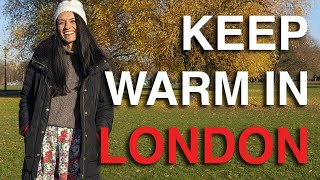 How to Stay Warm When Visiting London ❄️| Winter in London | Love and London