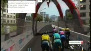 Tour de France 2011 (Le Mans-Châteauroux) xbox360 homenaje a Tondo etapa 7