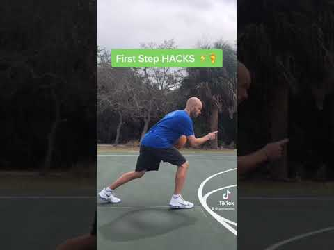 First Step HACKS⚡️🦶 - Get Handles Basketball