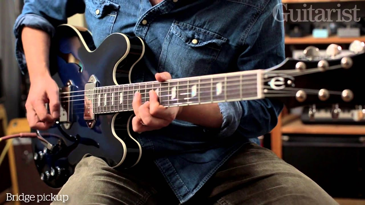 Gary clark jr epiphone casino review