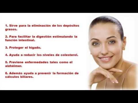 propiedades de lecitina de soja en capsulas