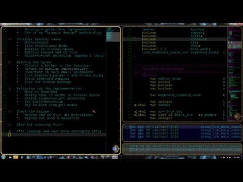 Iron: Adding UIX Features (LiveCoding.tv part 6)