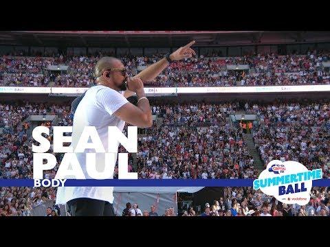 Sean Paul - 'Body'  (Live At Capital's Summertime Ball 2017)