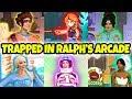 DISNEY PRINCESSES STUCK IN WRECK IT RALPH 2 ARCADE (Elsa, Vanellope, Tiana, Belle, Anna and Jasmine)